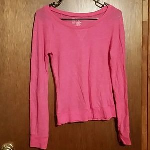 Like new light pink long sleeve shirt